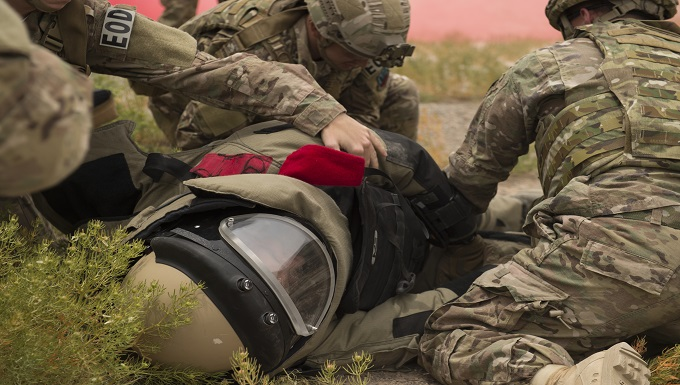 EOD receives Tactical Combat Casualty Care training