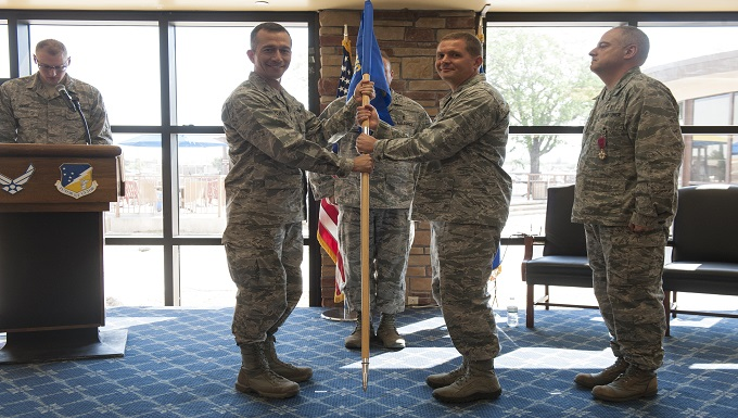 49th MDG Change of Command